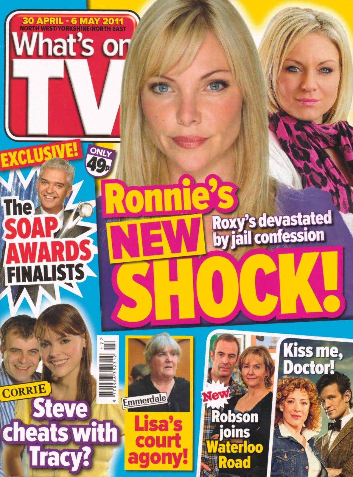 what s on tv 30 april 6 may 2011 doctor who listing randomtvstuff. Black Bedroom Furniture Sets. Home Design Ideas